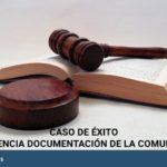 Sentencia favorable obligación de la Comunidad de Propietarios de aportar documentos necesarios