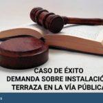 sentencia favorable demanda sobre impugnacion por instalacion de terraza en la via publica 150x150 - Abogados Comunidades Propietarios Siero